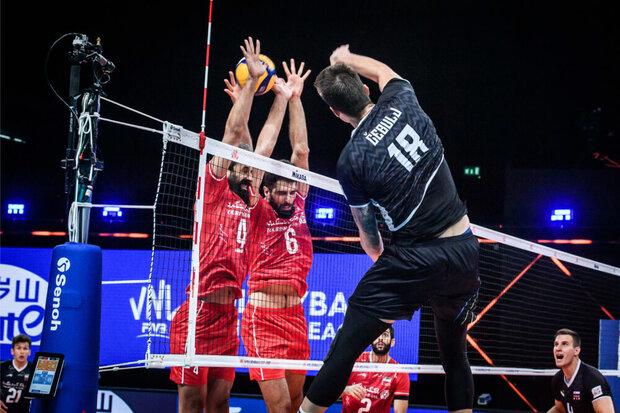 سه بازی سخت تیم ملی والیبال ایران در هفته پایانی