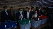 Presidential candidate 'Rezaei' casts his vote in Shahr-e Rey