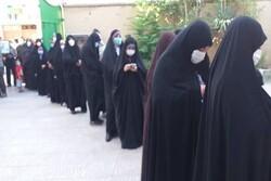 """أجواء مرقد الشهيد الحاج """"قاسم سليماني"""" في يوم الانتخابات"""