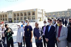 Presidential candidate 'Ghazizadeh' casts vote in Mashhad