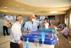 Tahran'daki Bakiyetullah Hastanesinde seçim heyecanı