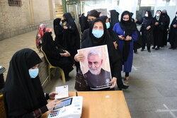 افزایش مشارکت کرمانشاهیان در انتخابات تا ظهر امروز نسبت به دورقبل