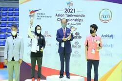 Iran's women, men ranked 2nd, 3rd at Asian Taekwondo C'ship