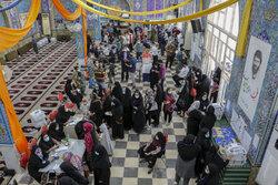 ازدحام در شعب اخذ رأی خوزستان ادامه دارد