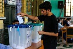 انتخابات اصفهان با امنیت کامل در حال انجام است