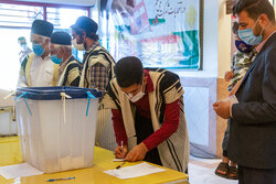 جشن انتخابات - شهرکرد