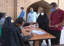 حضور بیش از ۸۰ درصدی مردم اردستان در انتخابات ۱۴۰۰