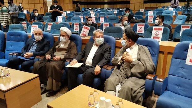 وزیر اطلاعات و دادستان کل کشور از ستاد انتخابات کشور بازدید کردند