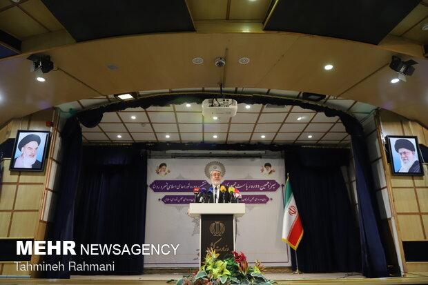 نشست خبری وزیر کشور در ستاد انتخابات