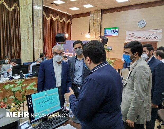 سخنگوی شورای نگهبان از ستاد مرکزی نظارت بر انتخابات بازدید کرد