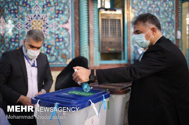 Celebration of elections in Hosseiniyahs of Jamaran, Ershad