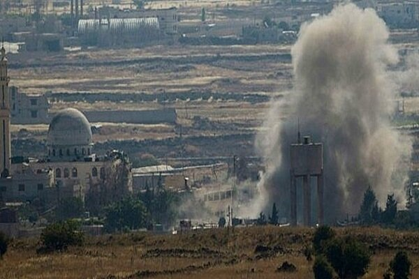 Zionist regime launches military aggression in S Syria