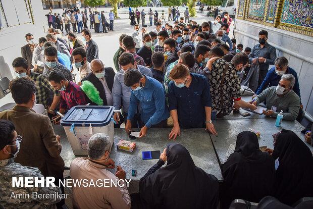 جشن انتخاباتی مردم شیراز