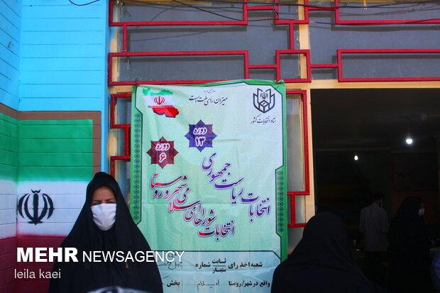 حضور پرشور مردم استان ایلام در انتخابات ادامه دارد