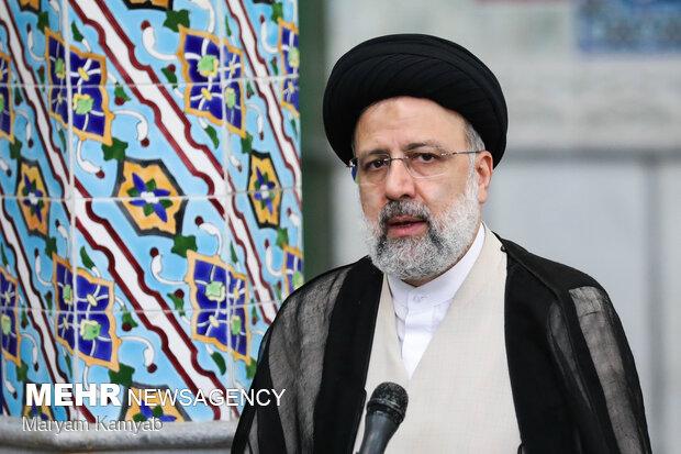 حضور سید ابراهیم رئیسی در انتخابات ۱۴۰۰