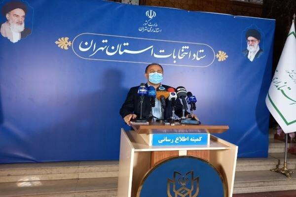 حضور مستمر عوامل خدماتی در شعب اخذ رای استان تهران