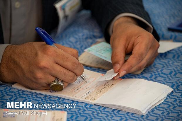 حضور ۲۰ درصدی مردم نهبندان در ساعات اولیه انتخابات