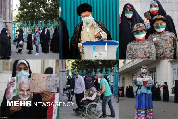 مراكز الاقتراع تفتح ابوابها في ايران لانتخاب رئيس للجمهورية الاسلامية