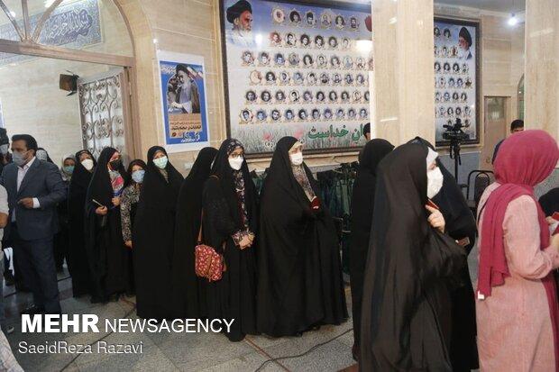 جشن انتخابات- مسجد الرسول(ص) تهران