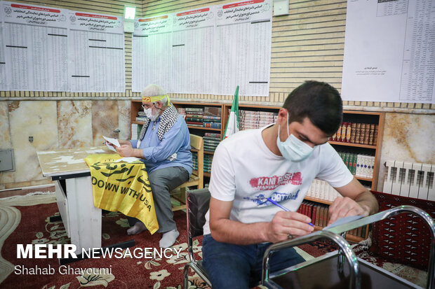 نزاع در شعبه انتخاباتی روستای میدانک برطرف شد