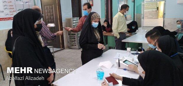 جشن انتخابات - سمنان