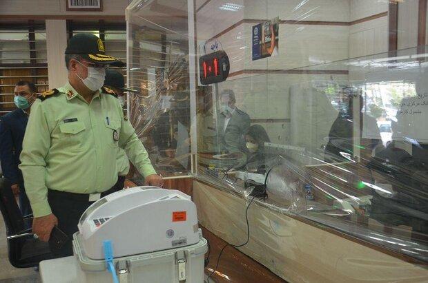 برقراری امنیت در شعب اخذ رای کرمانشاه/ برخورد با خرید و فروش رای