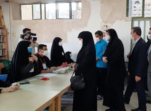 مشارکت پرشور مردم در روستای شهرستانک