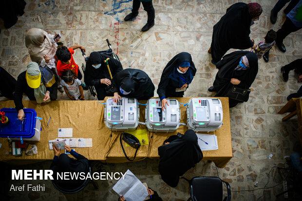 جشن انتخابات - کرج
