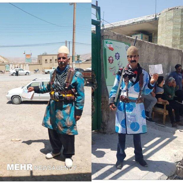 عشایر ایلام رای خود را به صندوق انداختند