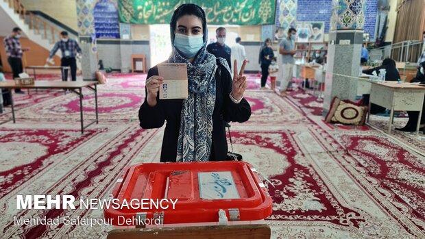 جشن انتخابات - عسلویه