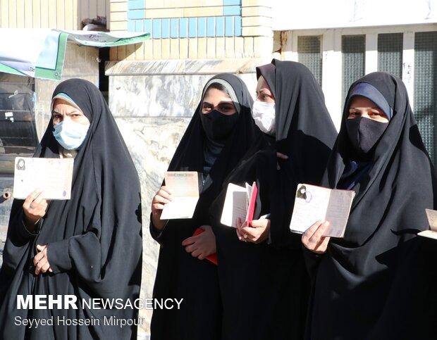 ۲۰ درصد زنجانی ها تاکنون در انتخابات مشارکت داشتند