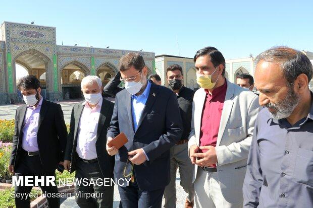 حماسه پرشور مردم مشهد در انتخابات ریاست جمهوری