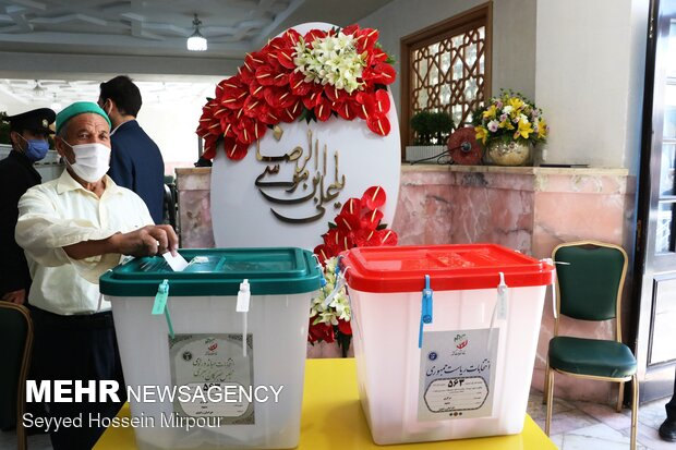 ۲ میلیون و ۳۵۰ هزار نفر در خراسان رضوی رأی دادند
