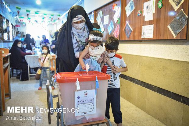 جشن انتخابات - شیراز