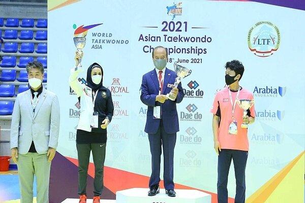 منتخب ايران النسائي يحرز الوصافة في بطولة آسيا للتايكواندو
