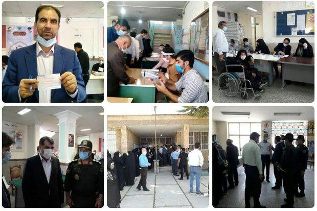 خرم آباد میں انتخابات میں عوام کی پر جوش اور ولولہ انگیز شرکت