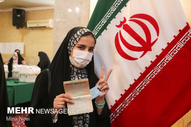 جشن انتخابات - تبریز