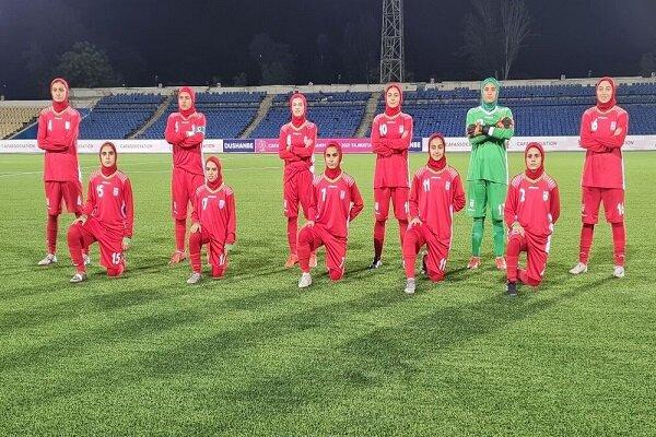 Iran finishes runner-up at CAFA junior C'ship
