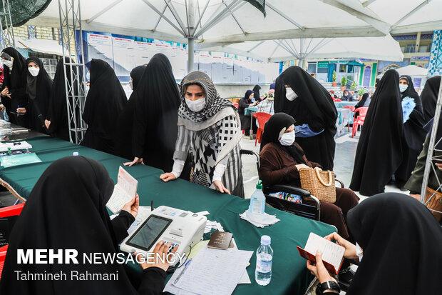 جشن انتخابات- امامزاده صالح (ع)