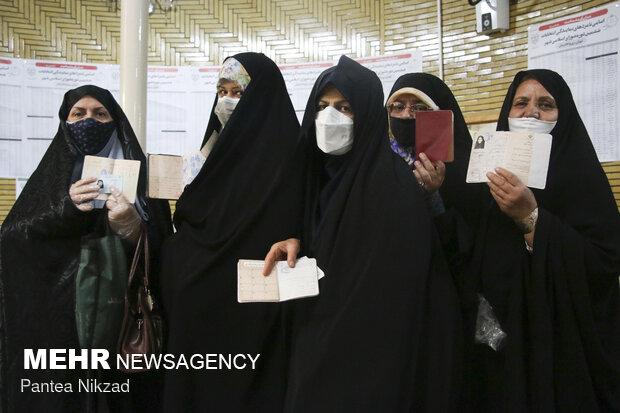 جشن انتخابات- مسجد فاطمی