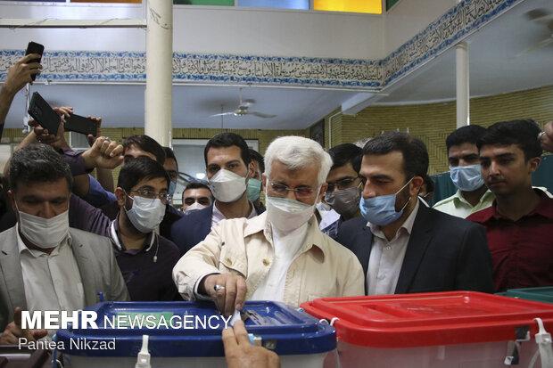 حضور سعید جلیلی در مسجد فاطمی