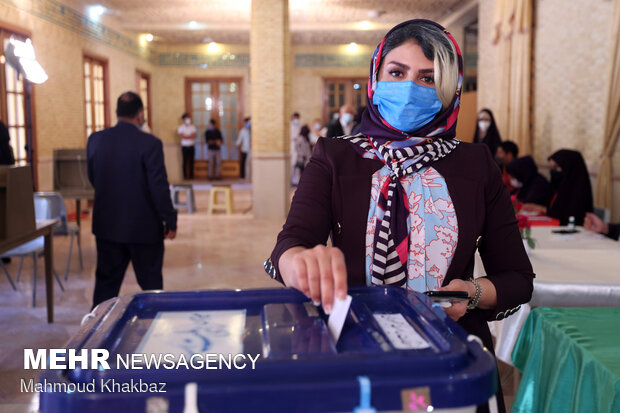 جشن انتخابات - جزیره کیش