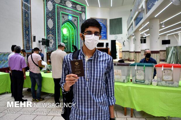 جشن انتخابات- مسجد النبی(ص)