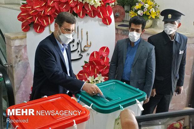 جشن انتخابات - مشهد