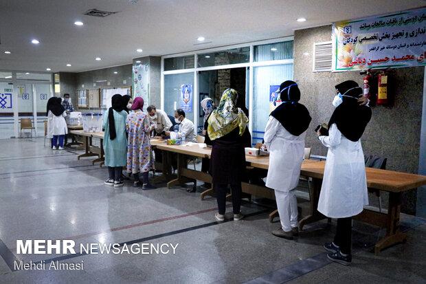 انتخابات ۱۴۰۰ در زنجان - کادر درمان