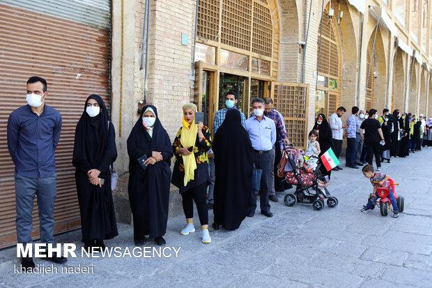 ۴۴ درصد مردم اصفهان در انتخابات ۱۴۰۰ مشارکت داشتند