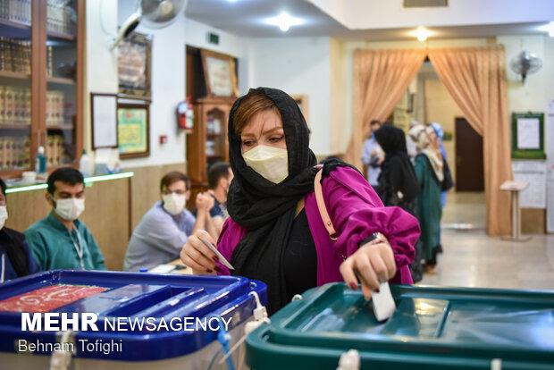 جشن انتخابات - محله ولنجک