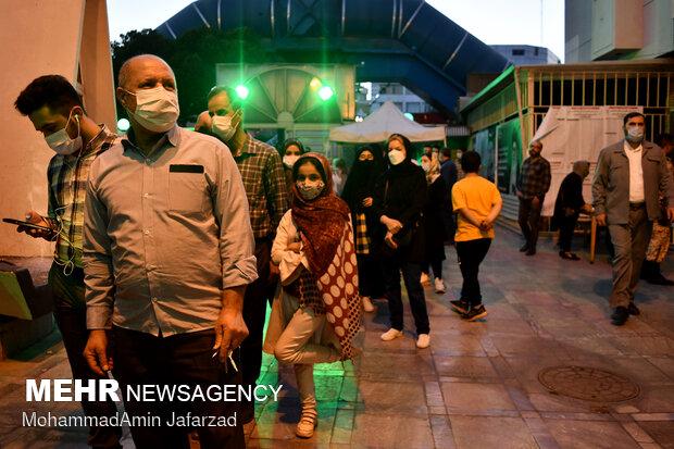 ساعات پایانی اخذ رای در تهران