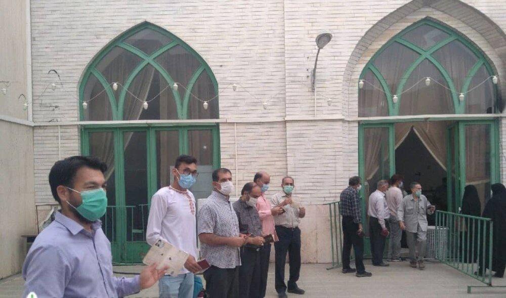 مشق همدلی در آغازین ساعات انتخابات ۱۴۰۰/ شکوه حماسه در گلستان آغازشد