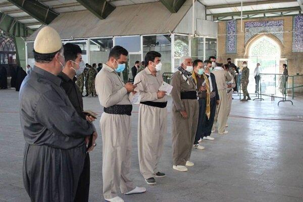 حضور گسترده مردم کرمانشاه در جشن انتخابات